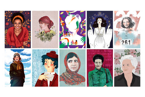 Exposició 10 dones il·lustres, 10 il·lustradores a Platja d'Aro